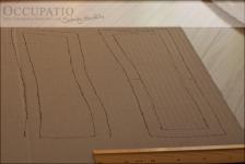 Outlines mit markierter Nahtzugae